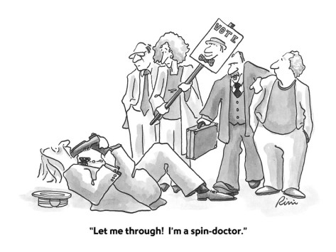 """Why We Don't """"Spin"""""""
